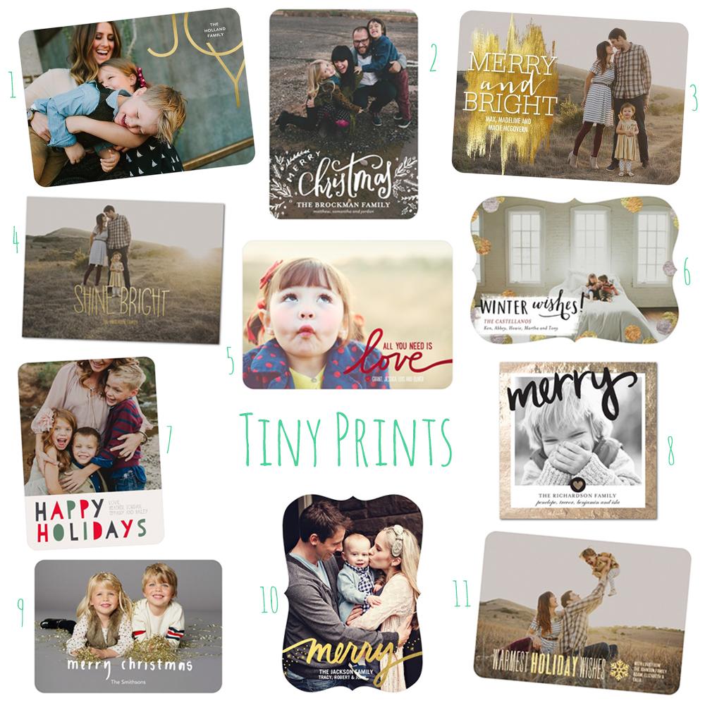 Tiny Prints Christmas 2