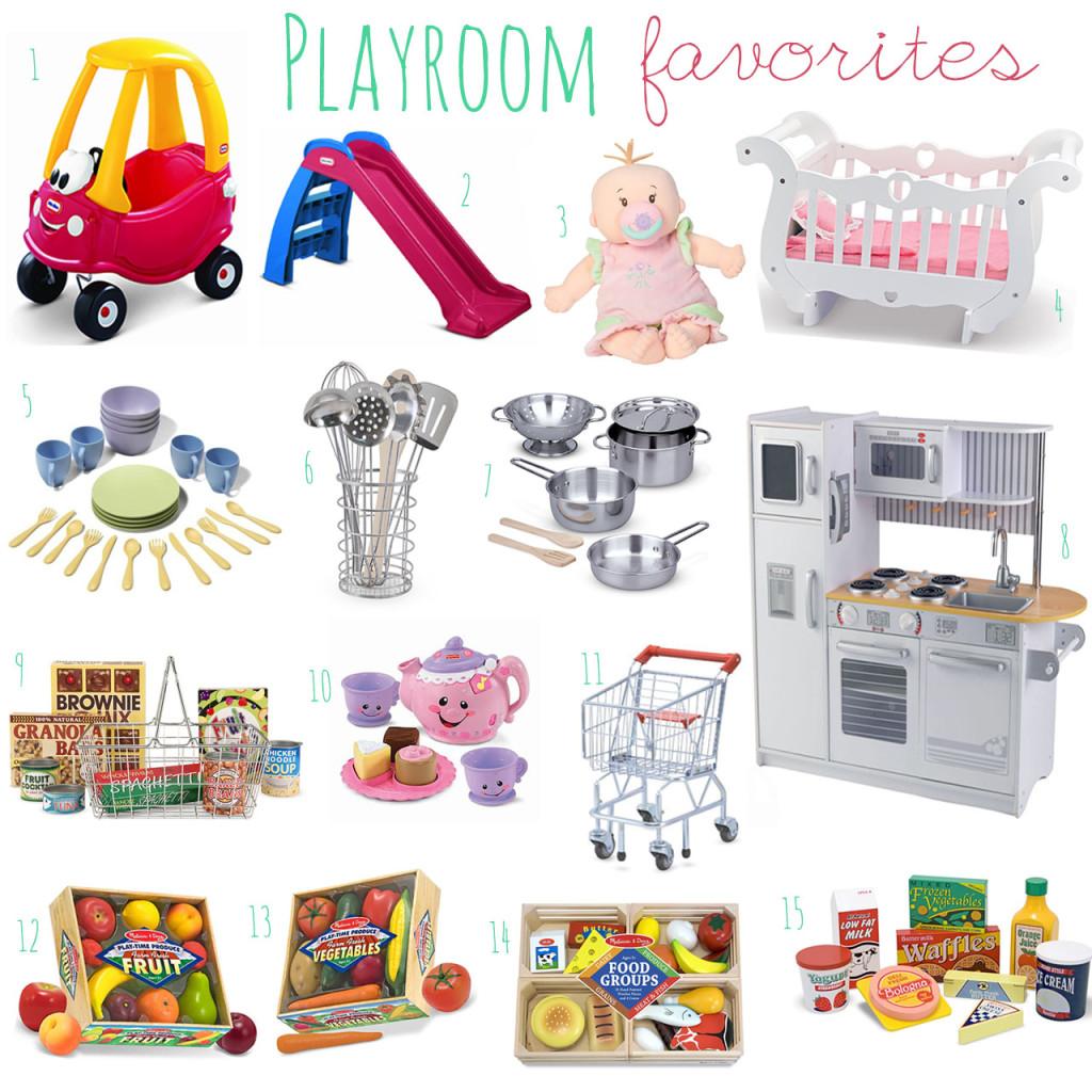 Playroom Faves