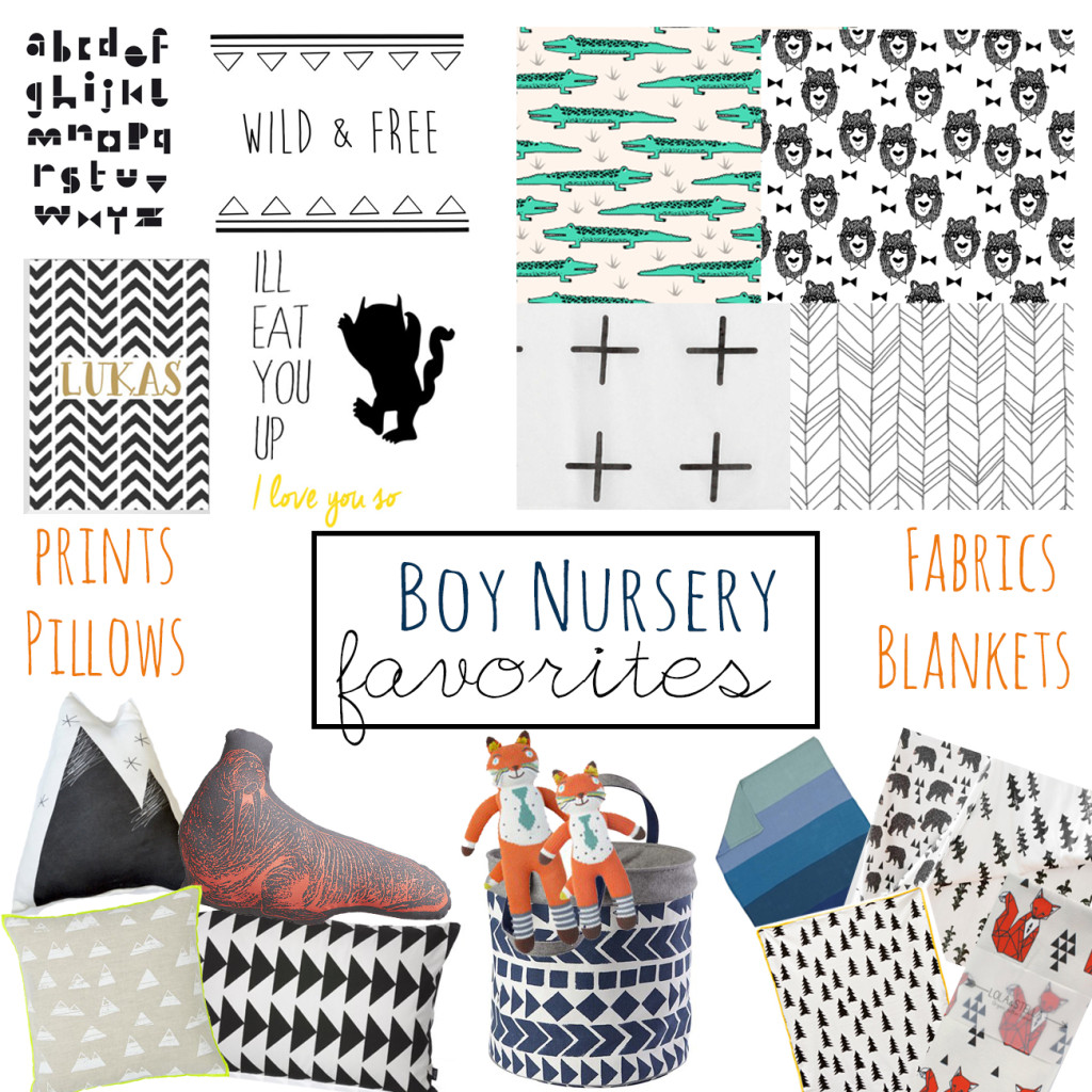 Boy Nursery Decor final
