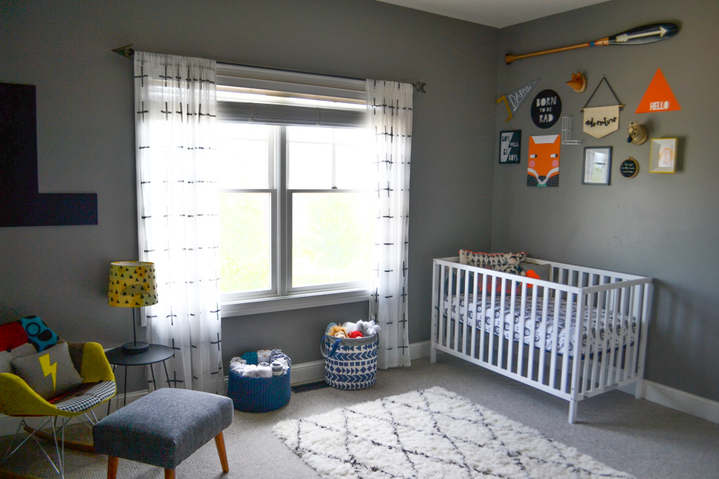 Hipster nursery