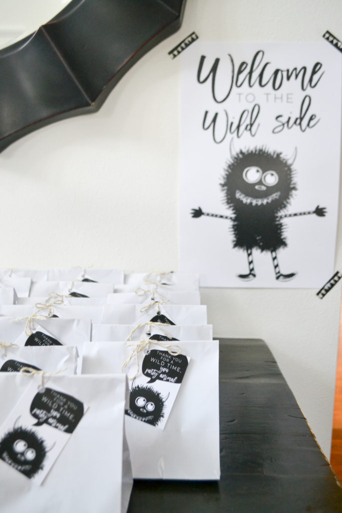 Leo's Wild One Party // Apple of My Ivy blog