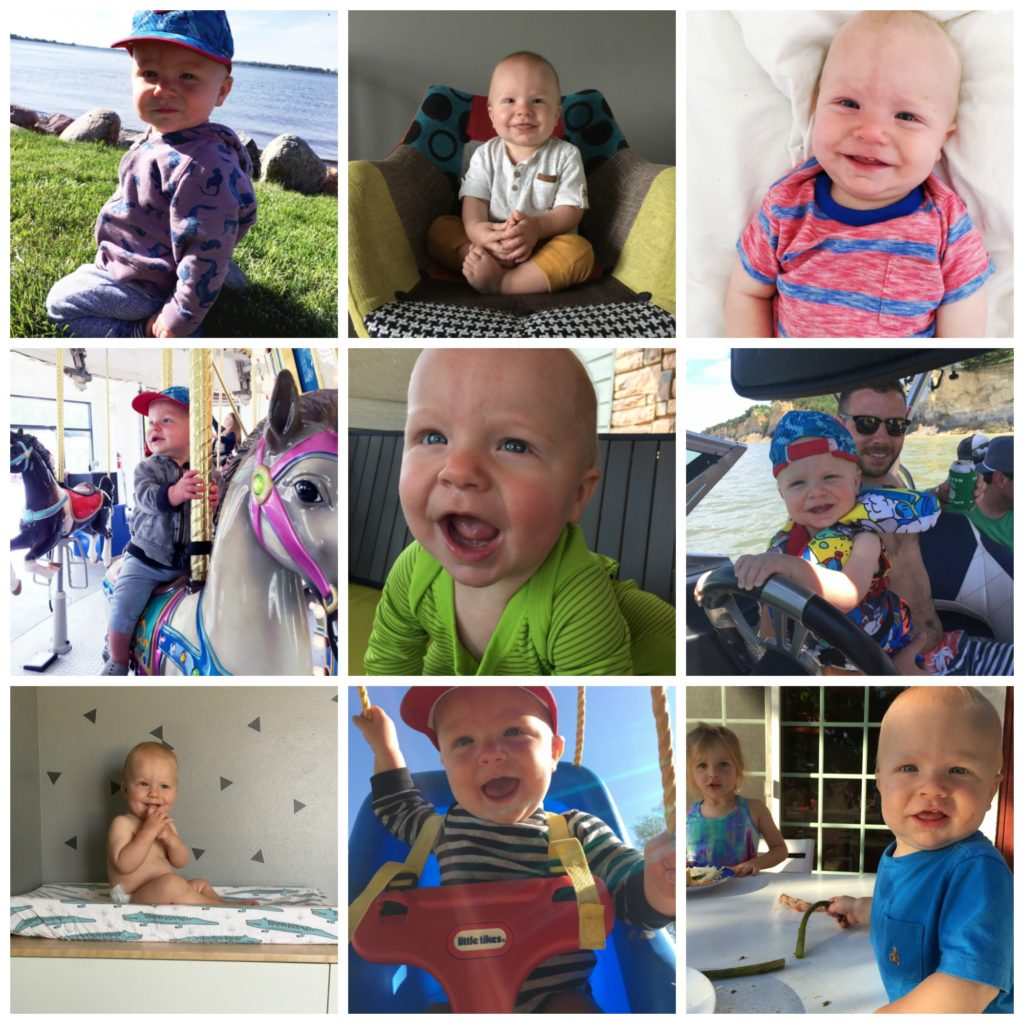 Leo12monthcollage