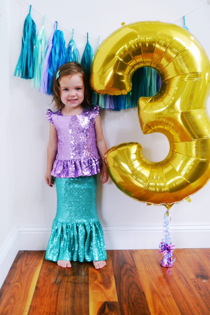 Mermaid Inspired Birthday Party